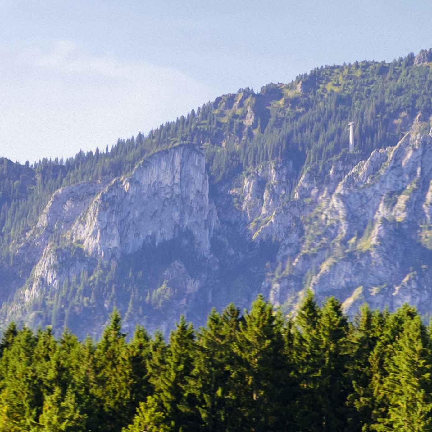 Bayern mit Alpenbergen Teil 4 – Modellbahn Hintergrund 300cm x 70 cm 5