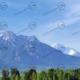 Teil 1 Modellbahnhintergrund Bayern mit Alpenbergen