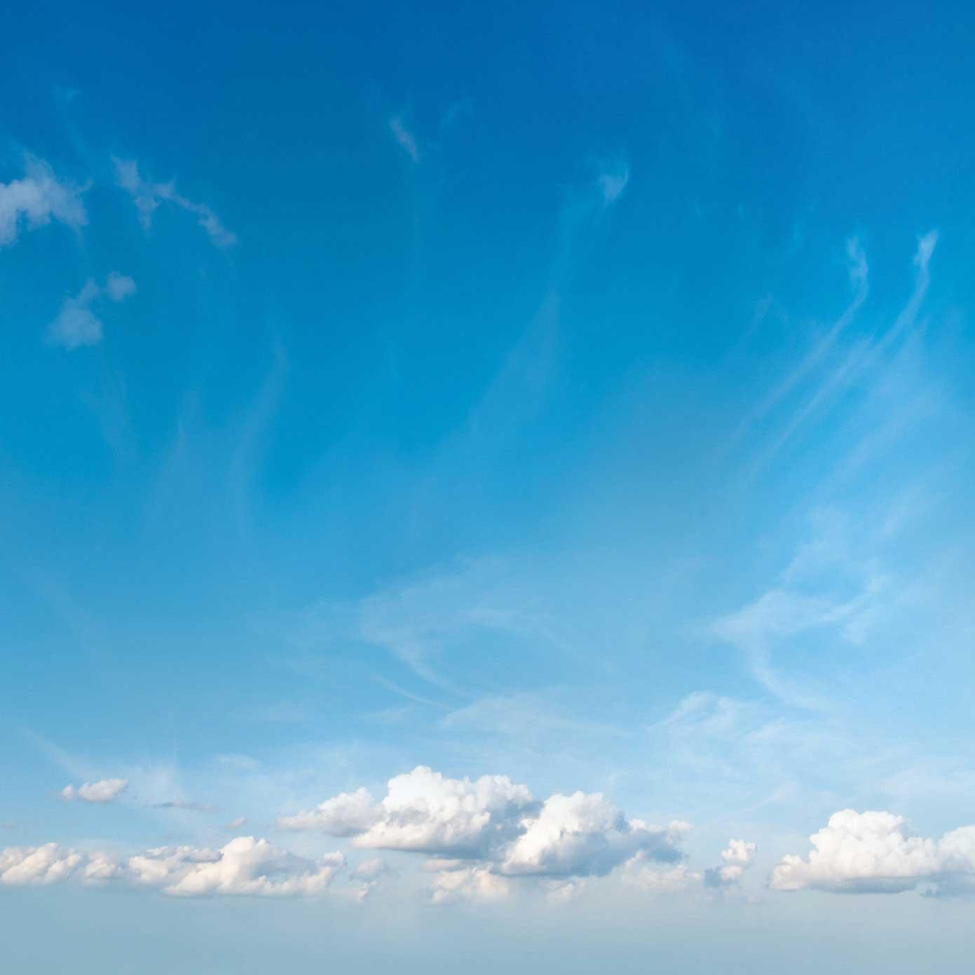 """Modellbahn Hintergrund """"Himmel 02 mit Sonne"""" auf 3 x 0,5 Meter 2"""