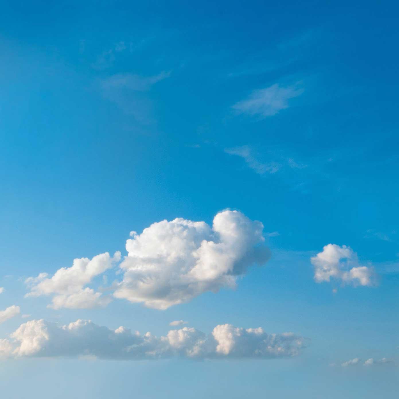 """Modellbahn Hintergrund """"Himmel 02 mit Sonne"""" auf 3 x 0,5 Meter 1"""