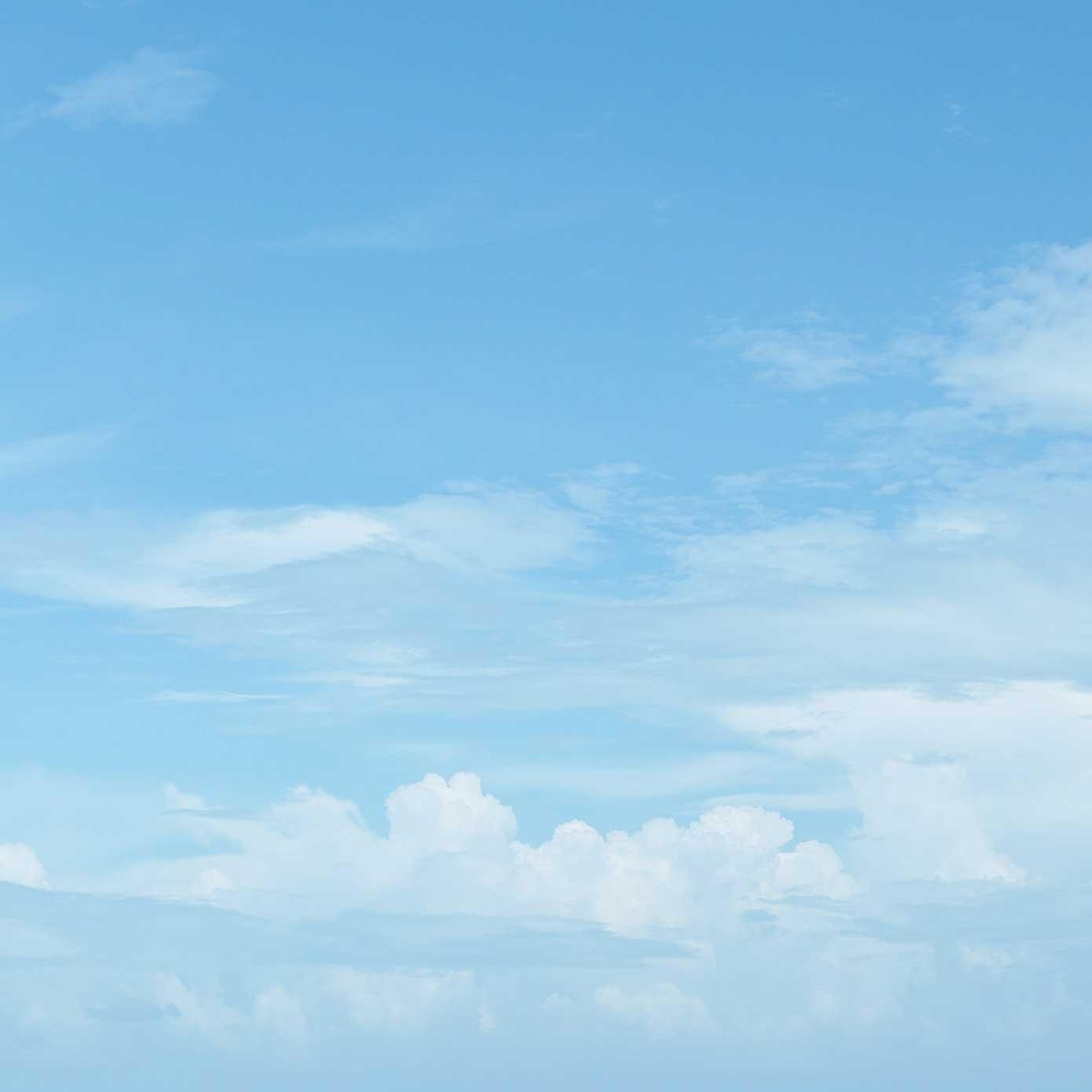 """Modellbahn Hintergrund """"Himmel mit Schleierwolken"""" auf 3 x 0,5 Meter 1"""