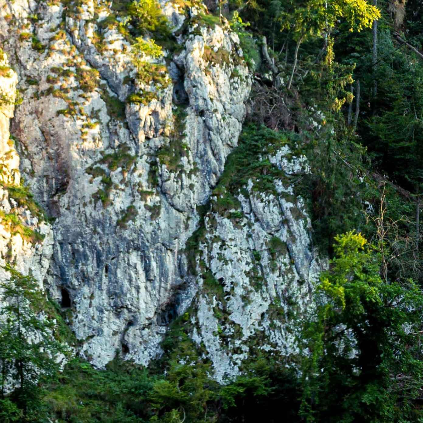 """Mittelgebirge Teil 3 """"Kelheim"""" – Modellbahn Hintergrund 300cm x 50 cm 1"""