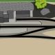 Endbahnhof mit Schiebebühne