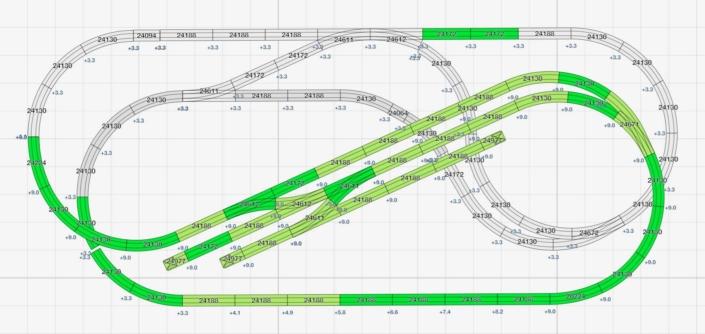 Kleine und kompakte H0 Gleispläne für C-Gleis Einsteiger 1