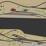 Modellbahn Anlagenvorschlag in U Form