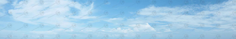 Himmel mit Schleierwolken: Modellbahn-Hintergrund f
