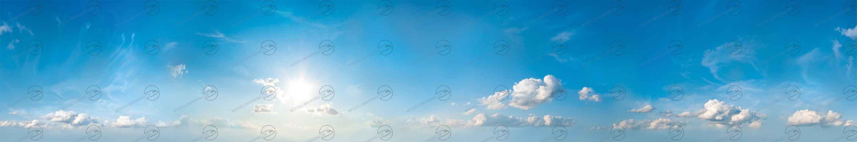 Modellbahn-Hintergrund Himmel