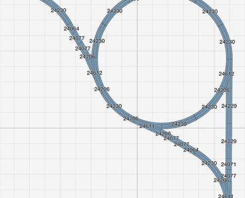 Teil 4<br> Nützliche Gleisfiguren (mit Gleisplänen) 2