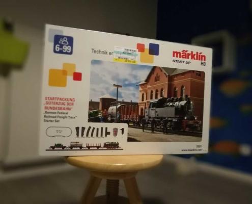 Das Maerklin start-up-Paket Startpackung Güterzug der deutschen Bundesbahn