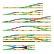 Piko A Gleis: Weichen, Kreuzungen und Doppelkreuzungsweiche DKW im Beispiele