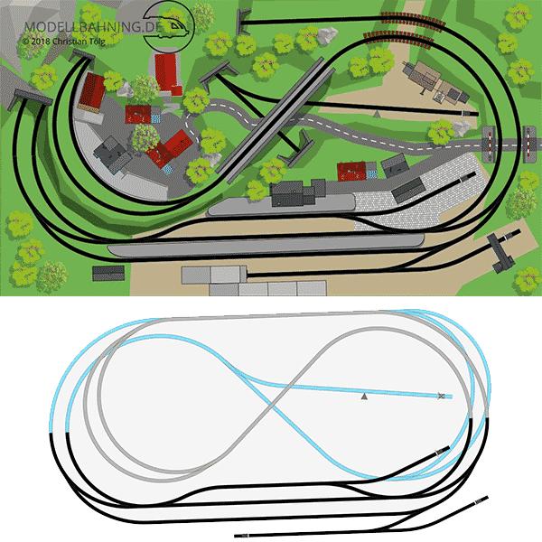 Plan-2-C-Gleis-3Ebenen-Hundeknochen-Rechteck-220x120-skizze 3