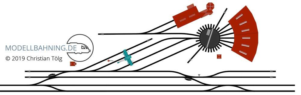 Detaillierter Gleisplan mit Artikelnummern auch als Download erhältlich.