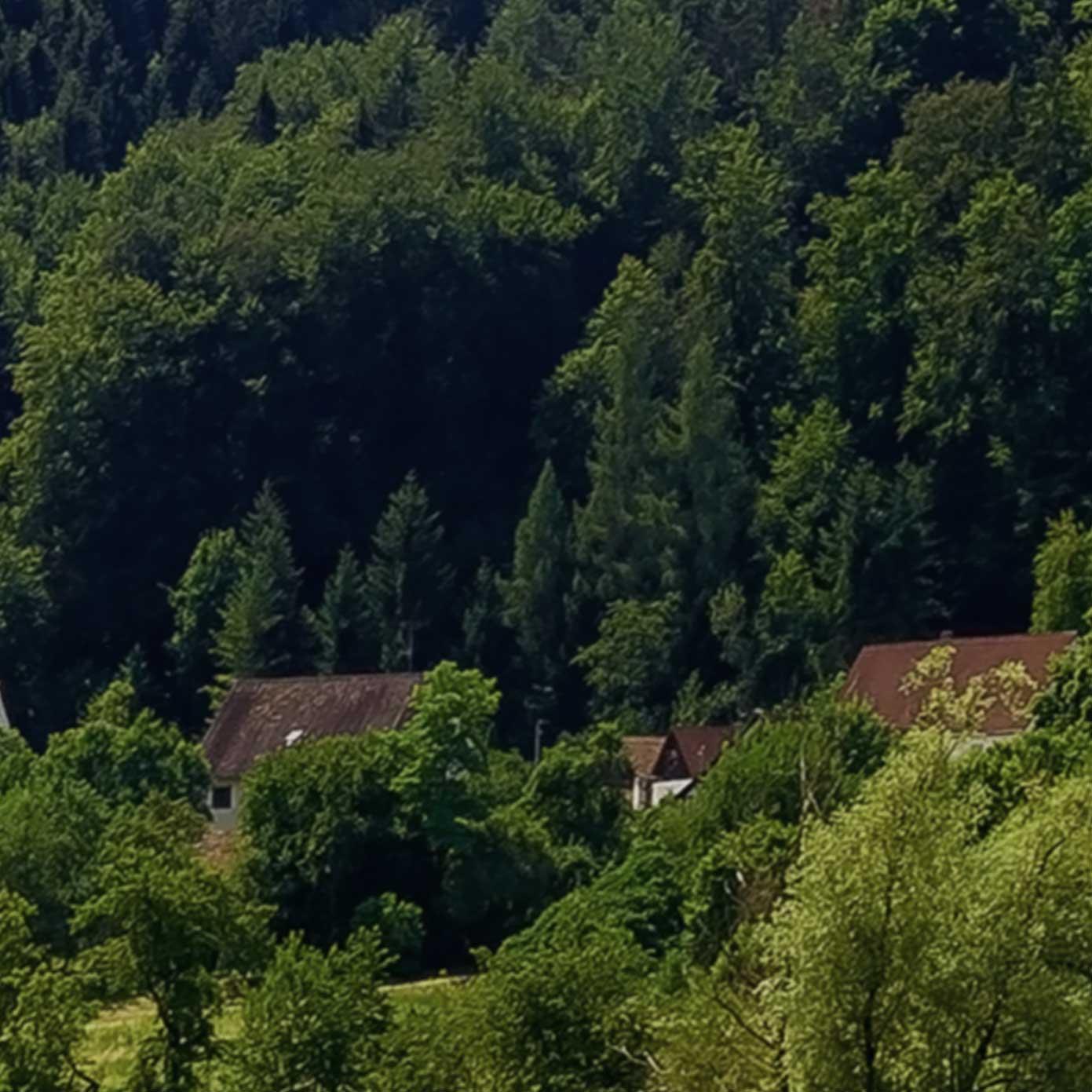 Kleinstadt im Osten – Erweiterung links 300cm x 50 cm 3