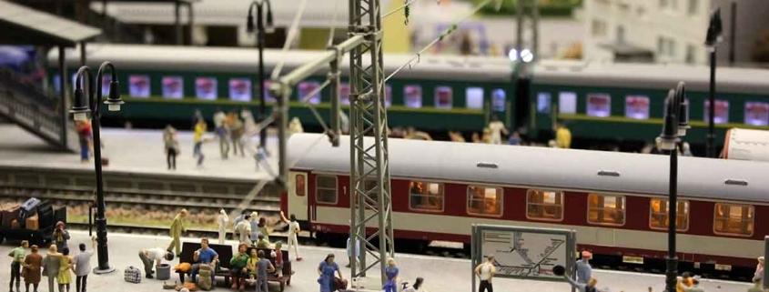 Bahnhof Modelleisenbahn