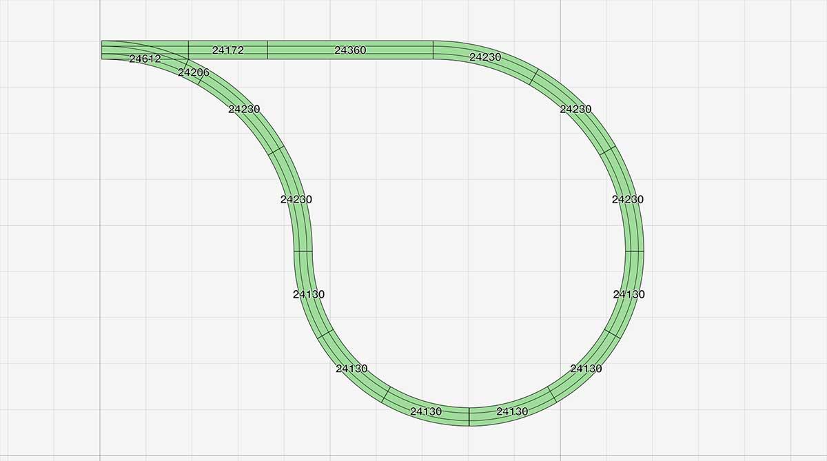Eine enge H0 Kehrschleife für einen kompakten Gleisplan mit dem Märklin C-Gleis