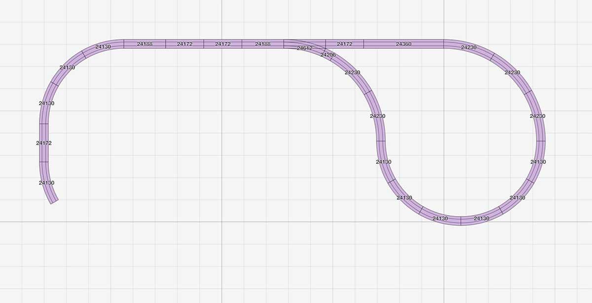 Kehrschleife zu Kompakter H0 Gleisplan mit Pendelstrecke