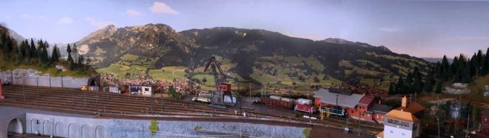 Kundenfoto: Modellbahnhintergrund Alfred Böhm