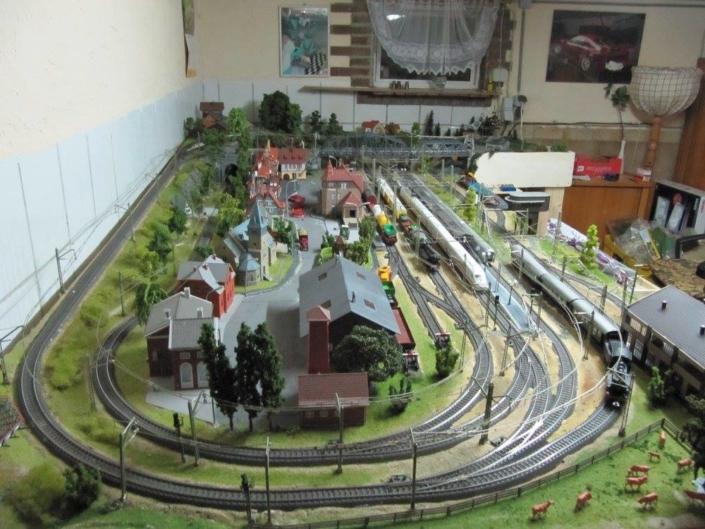 Pepe's H0 Gleisplan: gelungene Märklin-Anlage mit dem C-Gleis 7