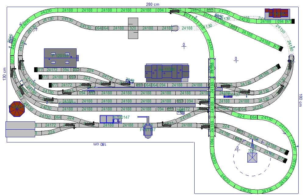 Pepe 39 s h0 gleisplan gelungene m rklin anlage mit dem c gleis for Design nachbau