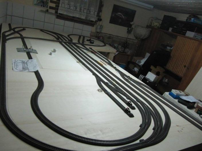 Pepe's H0 Gleisplan: gelungene Märklin-Anlage mit dem C-Gleis 6