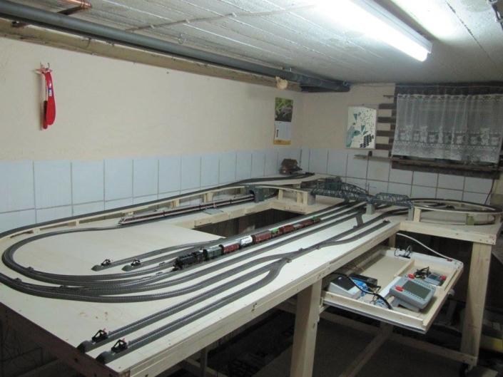 Pepe's H0 Gleisplan: gelungene Märklin-Anlage mit dem C-Gleis 3