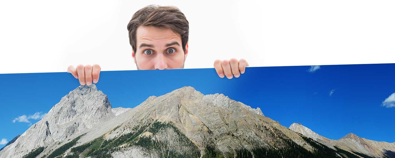 Top Modellbahn-Hintergrund, Modellbahn-Kulisse Hintergrundmotiv und Rückwand in einem.