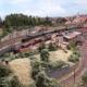 Modellbahn-Kulisse Kleinstadt im Osten