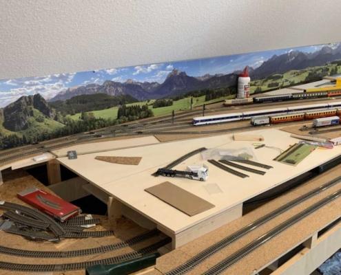 Modellbahnhintergrund Maßanfertigung
