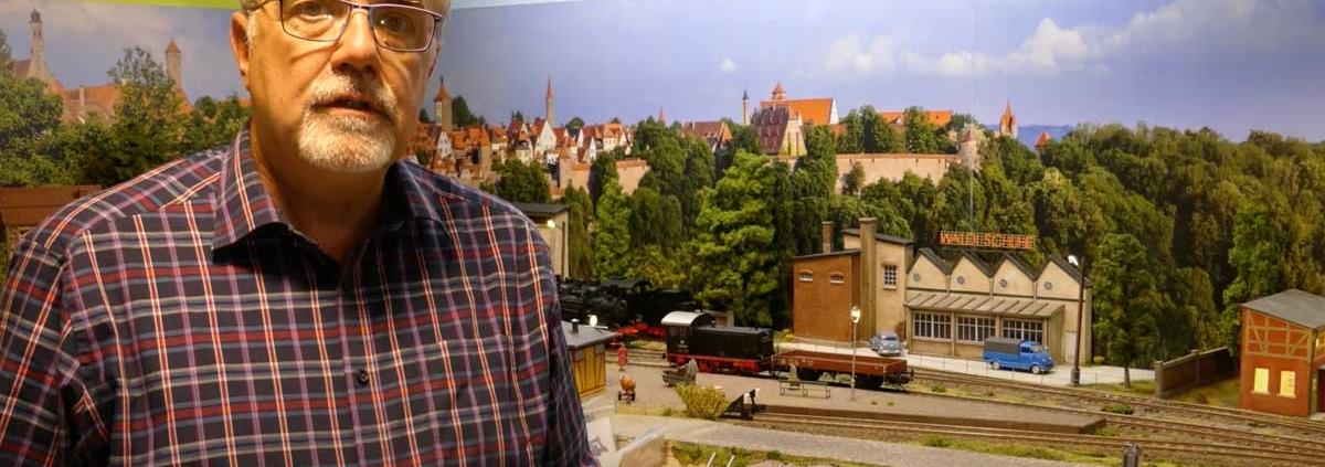 Modellbahn Hintergrund in Pottenstein