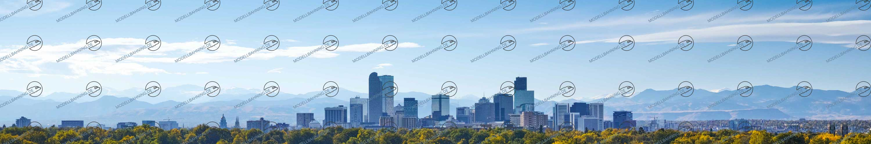 Modellbahn Backdrop USA Denver