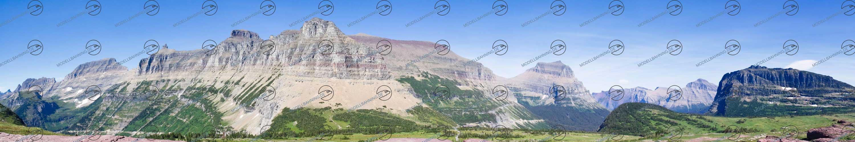 """Modellbahn Hintergrund """"Montana"""" auf 3 x 0,5 Meter 1"""