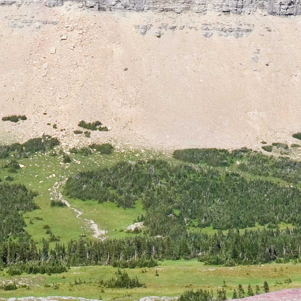 """Modellbahn Hintergrund """"Montana"""" auf 3 x 0,5 Meter 3"""