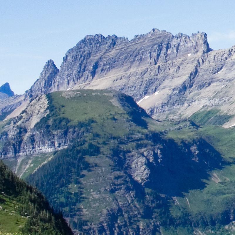 """Modellbahn Hintergrund """"Montana"""" auf 3 x 0,5 Meter 2"""