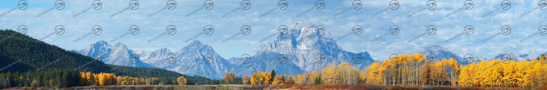 """Modellbahn Hintergrund """"Yellowstone"""" auf 3 x 0,5 Meter"""